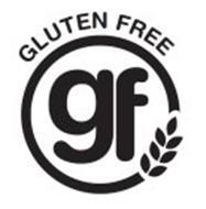 A GLUTEN FREE FOOD GF