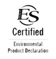 ICC ES CERTIFIED ENVIRONMENTAL PRODUCT DECLARATION