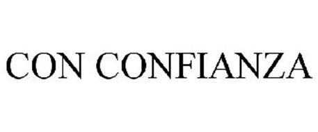 CON CONFIANZA
