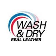 WASH & DRY REAL LEATHER