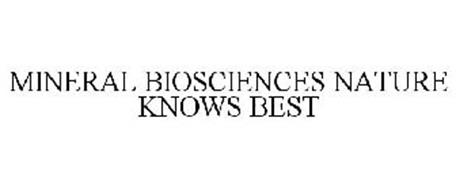 MINERAL BIOSCIENCES NATURE KNOWS BEST