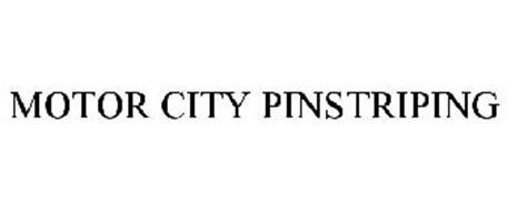 MOTOR CITY PINSTRIPING