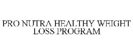 PRO NUTRA HEALTHY WEIGHT LOSS PROGRAM