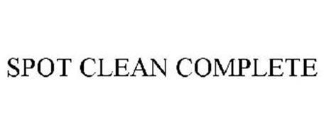 SPOT CLEAN COMPLETE