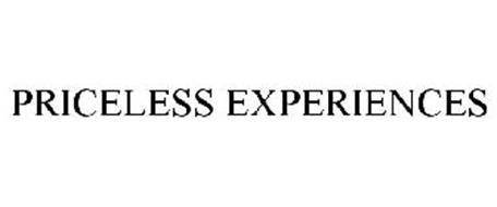 PRICELESS EXPERIENCES