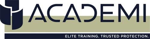 ACADEMI ELITE TRAINING. TRUSTED PROTECTION.