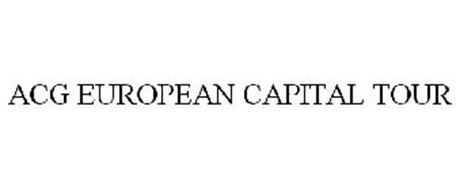 ACG EUROPEAN CAPITAL TOUR