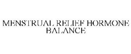 MENSTRUAL RELIEF HORMONE BALANCE