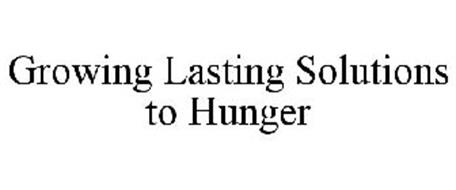 GROWING LASTING SOLUTIONS TO HUNGER