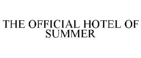 THE OFFICIAL HOTEL OF SUMMER