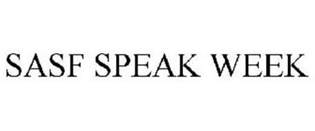 SASF SPEAK WEEK