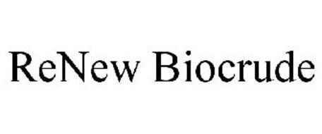 RENEW BIOCRUDE