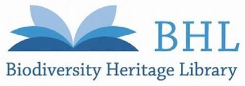 BHL BIODIVERSITY HERITAGE LIBRARY