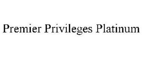 PREMIER PRIVILEGES PLATINUM