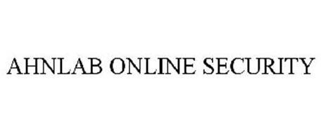 AHNLAB ONLINE SECURITY