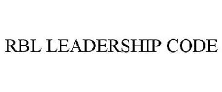 RBL LEADERSHIP CODE