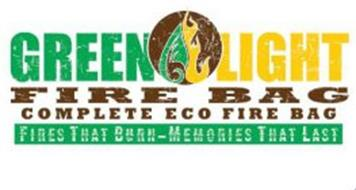 GREEN LIGHT FIRE BAG COMPLETE ECO FIRE BAG FIRES THAT BURN - MEMORIES THAT LAST