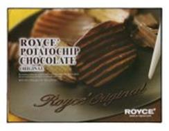 ROYCE' POTATOCHIP CHOCOLATE ORIGINAL BY BREAKING DOWN OLD CUSTOMS AND PRODUCING CONSISTENTLY ORIGINAL ITEMS, WE ARE PURSUING A NEW LEVEL IN CHOCOLATE ENJOYMENT. ROYCE' ORIGINAL ROYCE'
