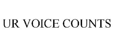 UR VOICE COUNTS