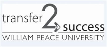 TRANSFER2SUCCESS WILLIAM PEACE UNIVERSITY