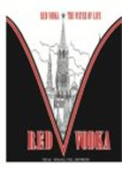RED VODKA THE WATER OF LIFE RED V VODKA 750 ML 40% ALC./VOL. 80 PROOF)