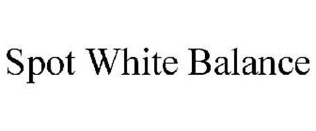SPOT WHITE BALANCE