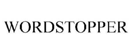 WORDSTOPPER