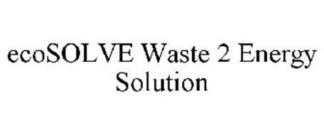 ECOSOLVE WASTE 2 ENERGY SOLUTION