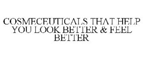 COSMECEUTICALS THAT HELP YOU LOOK BETTER & FEEL BETTER