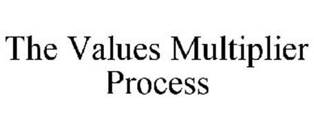 THE VALUES MULTIPLIER PROCESS
