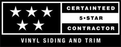 CERTAINTEED 5 · STAR CONTRACTOR VINYL SIDING AND TRIM