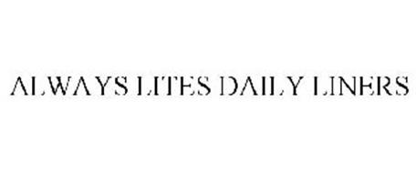 ALWAYS LITES DAILY LINERS