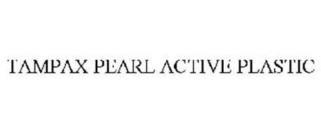 TAMPAX PEARL ACTIVE PLASTIC