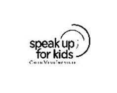 SPEAK UP FOR KIDS CHILD MIND INSTITUTE