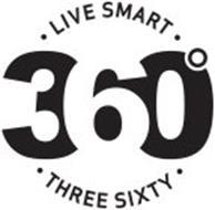 · LIVE SMART · 360° · THREE SIXTY ·