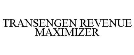 TRANSENGEN REVENUE MAXIMIZER
