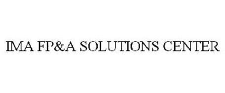 IMA FP&A SOLUTIONS CENTER
