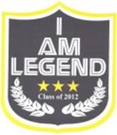 I AM LEGEND CLASS OF 2012