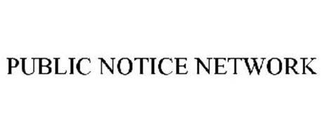 PUBLIC NOTICE NETWORK
