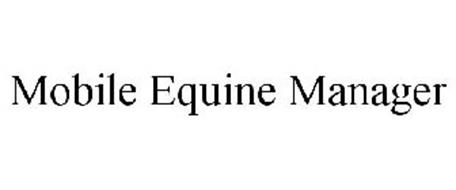 MOBILE EQUINE MANAGER