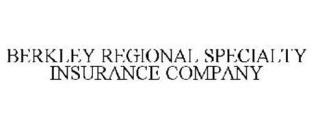 BERKLEY REGIONAL SPECIALTY INSURANCE COMPANY