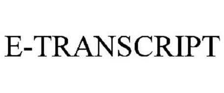 E-TRANSCRIPT