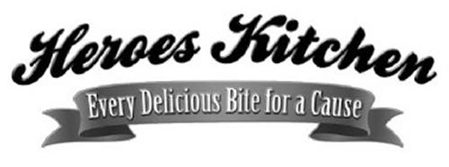 HEROES KITCHEN EVERY DELICIOUS BITE FOR A CAUSE