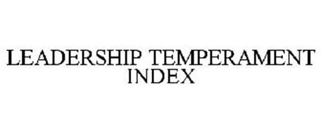 LEADERSHIP TEMPERAMENT INDEX