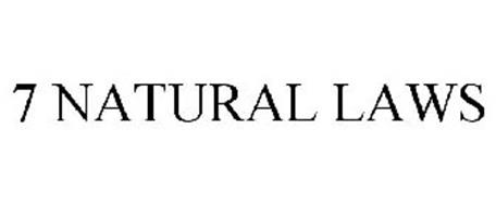 7 NATURAL LAWS