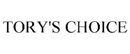 TORY'S CHOICE