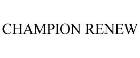 CHAMPION RENEW