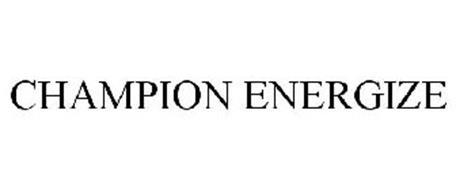 CHAMPION ENERGIZE