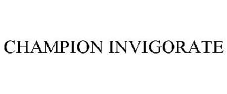 CHAMPION INVIGORATE