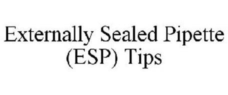 ESP EXTERNALLY SEALED PIPETTE TIPS